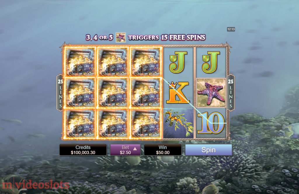 Ariana Microgaming Mobile Video Slot - base game win