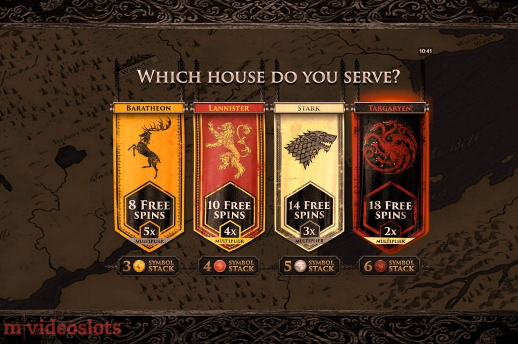 Game of Thrones Microgaming Mobile Video Slot 243 Ways - Which House do You Serve?