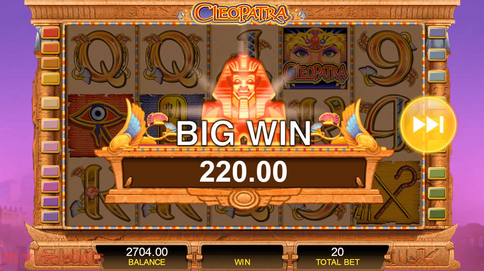 MegaJackpots Cleopatra - Rizk Casino