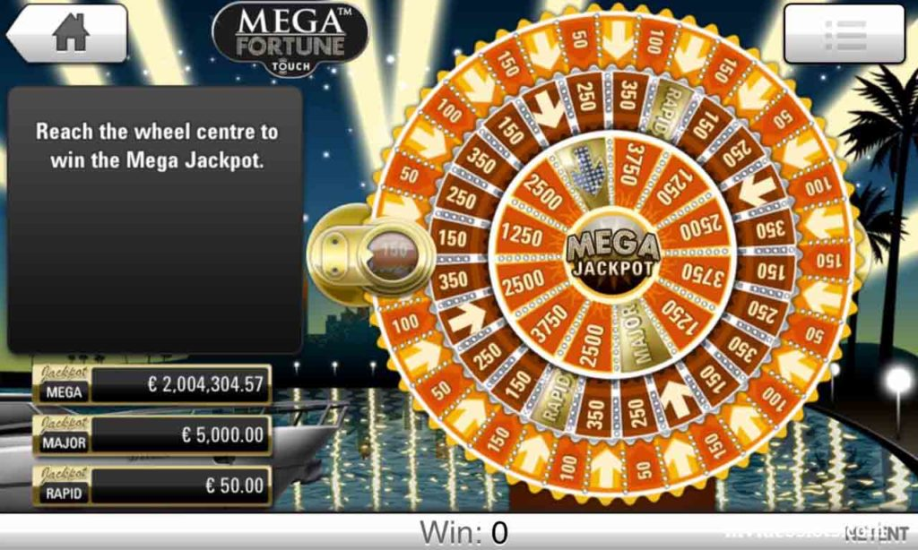 Win Mega, Major or Rapid Jackpot.