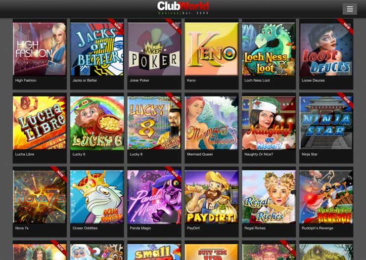 club world casino download free