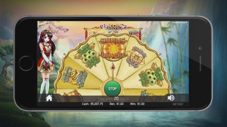 Koi Princess Mobile Slot Review | 8 Bonus Features Revealed
