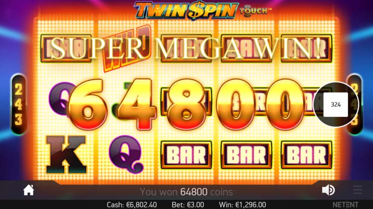 Twin Spin Mobile Slot Review + How to Win 270,000 Coins
