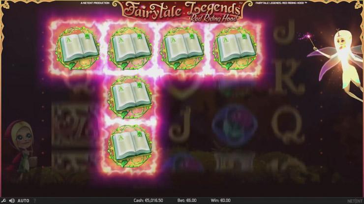 Fairy Magic Spins bonus in action.