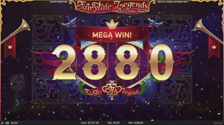 Play Fairytale Legends mobile slot.