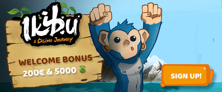 Ikibu casino welcome bonus.