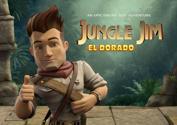 Jungle Jim El Dorado mobile slot review.