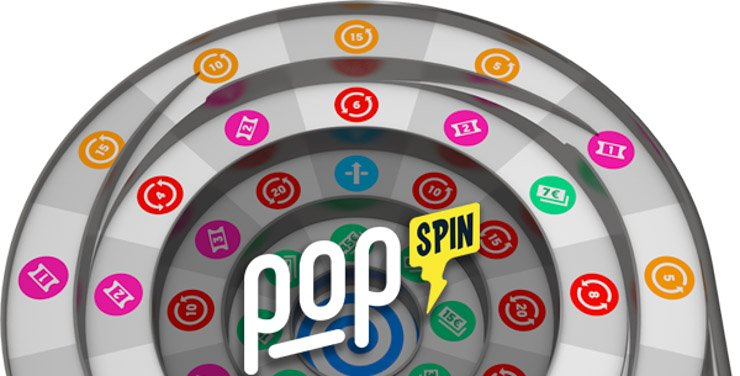 Casinopop's popSpin game with guaranteed loyalty rewards.
