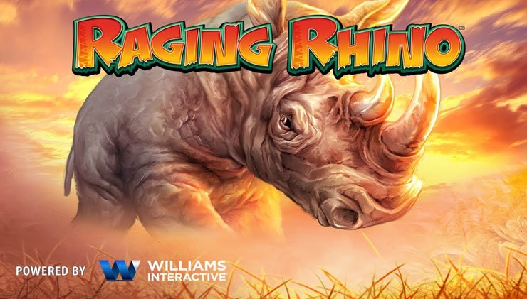 Raging Rhino mobile slot review.