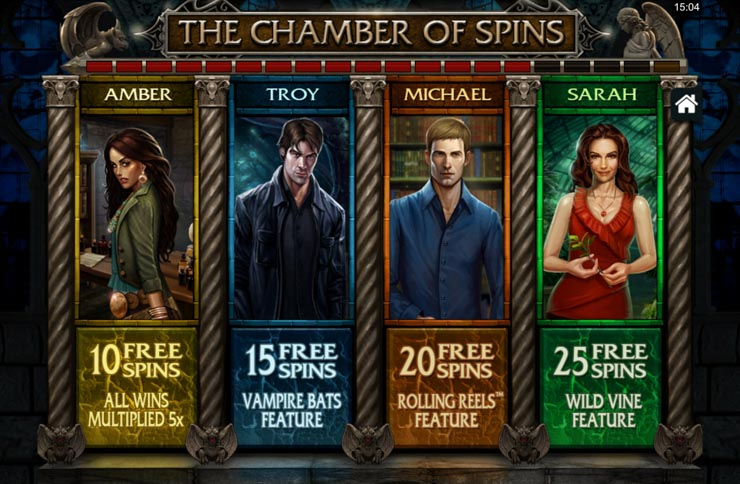 CHamber of free spins