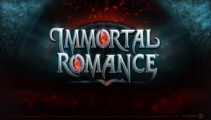 Immortal Romance (Microgaming) mobile slot review.
