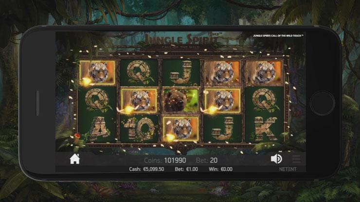 Jungle Spirit slot's Butterfly Boost feature.