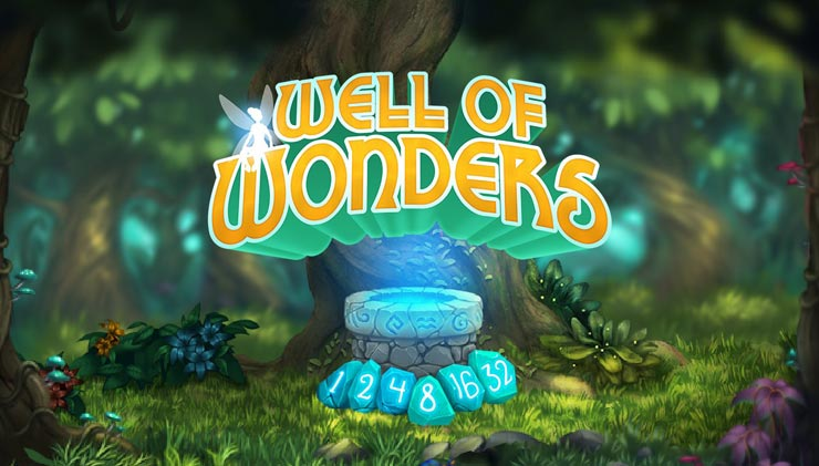 Thunderkick's Well of Wonders mobile slot review.