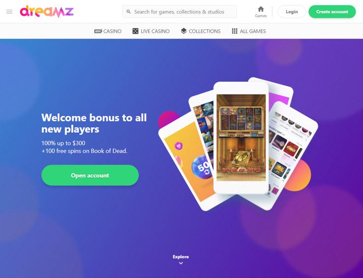 Dreamz Casino.