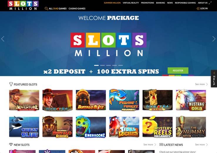 SlotsMillion Casino 2019.