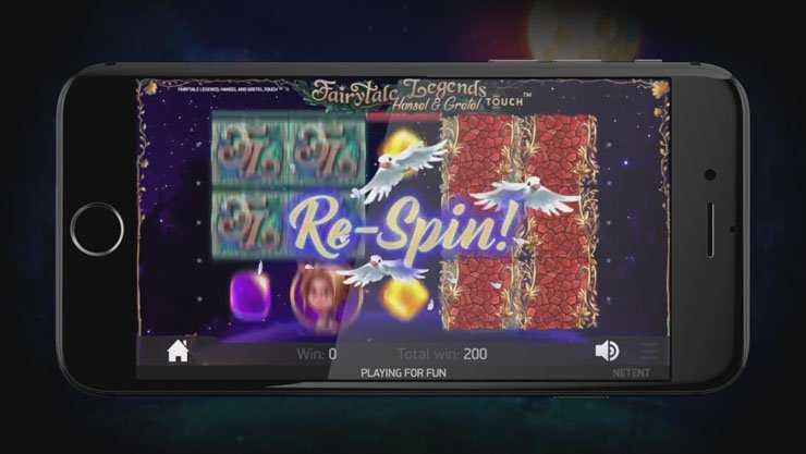 Hansel and Gretel slot Wild Re-spins.