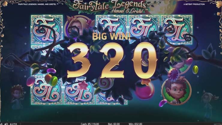 Play FairyTale Legends: Hansel & Gretel slot.