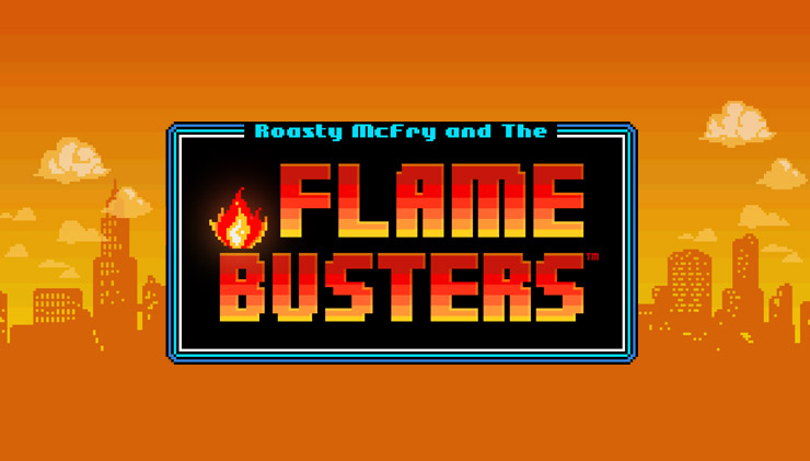 Flame Busters slot by Thunderkick.