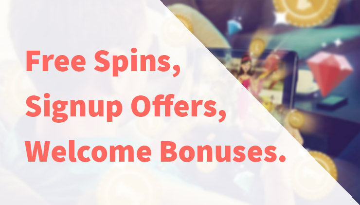 Mobile casino signup bonuses.
