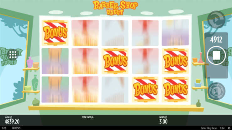 Barber Shop Uncut slot Free Spins Bonus.
