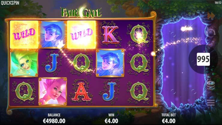 Fairy Gate slot Fairy Wild Re-spins bonus.