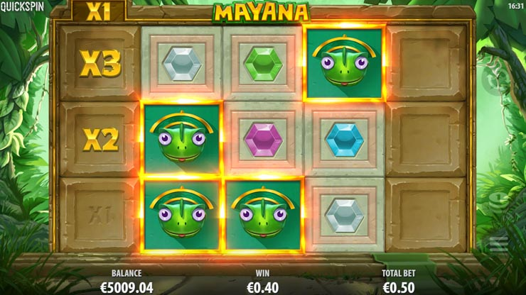 Mayana slot by Quickspin.