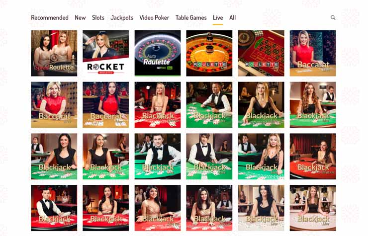 Karjala Kasino live casino.