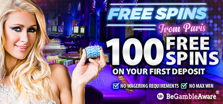 Bgo Casino new welcome bonus with Free Spins from Paris with love.