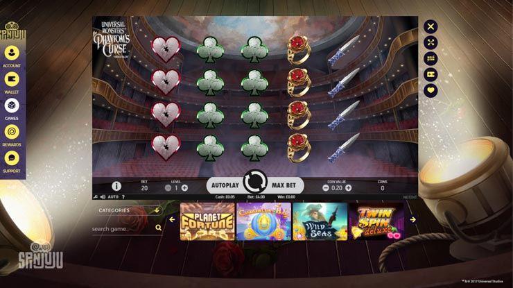 SpinJuju new slots and latest releases.