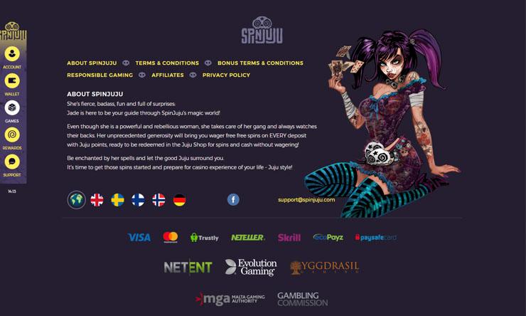 SpinJuju mobile casino re-launch.