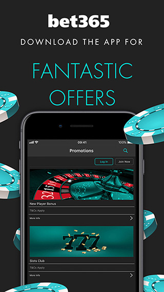 Bet365 casino offers and promotions.