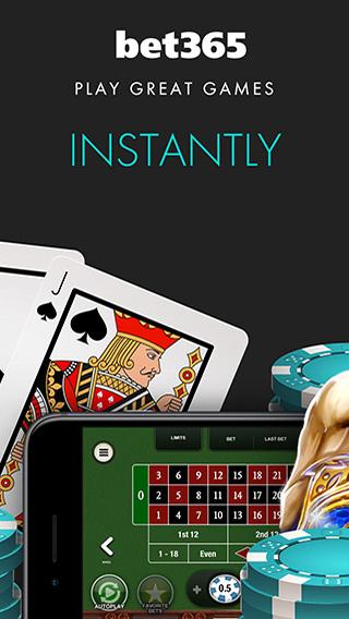 Bet365 instant play casino.