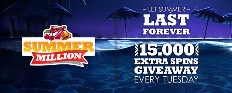 SlotsMillion SummerMillion promotion update.