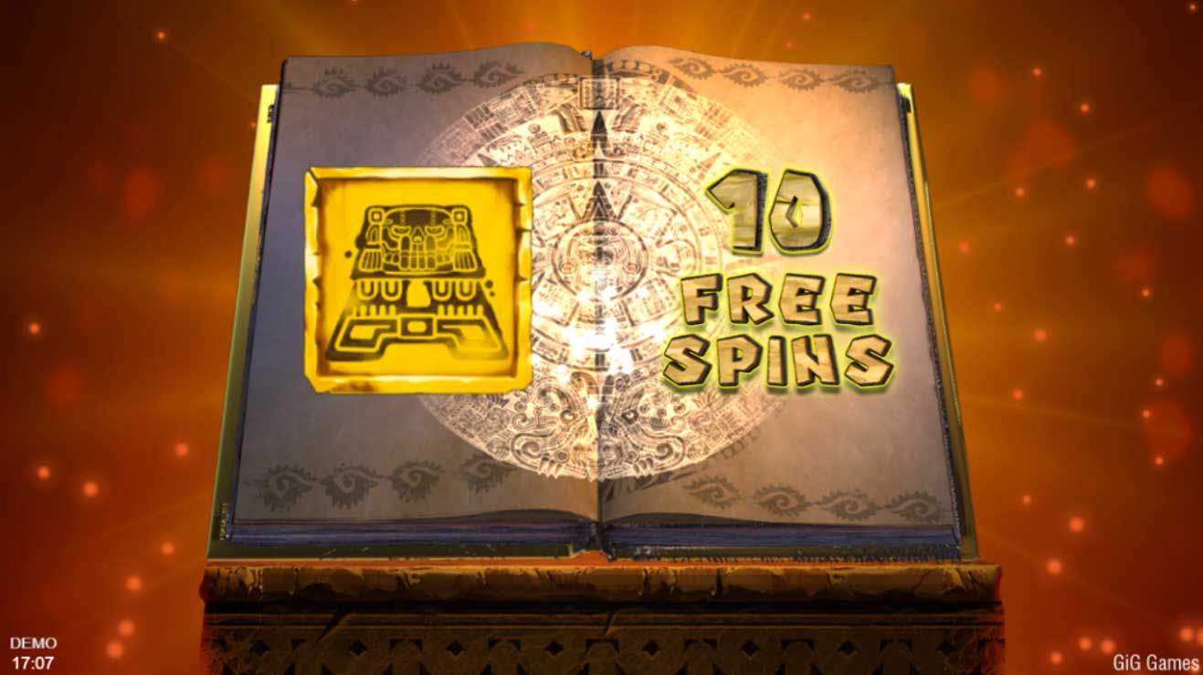 Book of Souls Free Spins bonus.