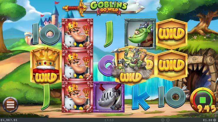 Goblins Go Wild Chasing Wild feature.