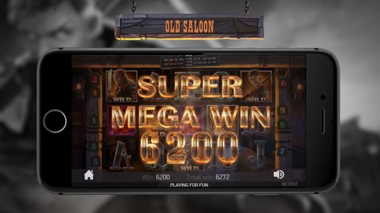 Dead or Alive 2 Super Mega Win on mobile.