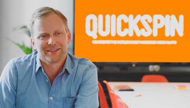 Mvideoslots.com interview with Quickspin in March 2019.