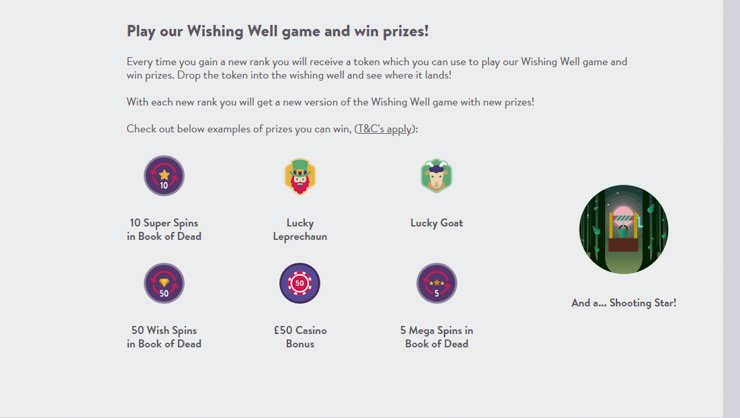 Wishmaker Casino Wishking Well game explained.