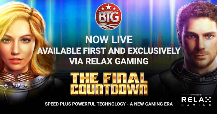 The Final Countdown Megaways slot by Relax Gaming.