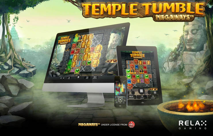 Temple Tumble Megaways by Relax Gaming.
