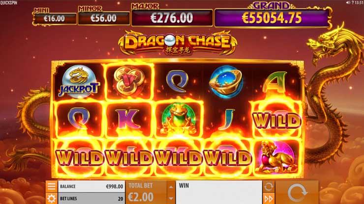 Dragon Chase Mega Win.
